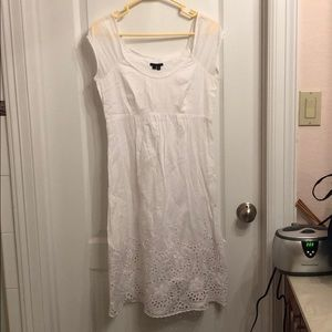 Vintage Theory Arella eyelet dress in white size 4